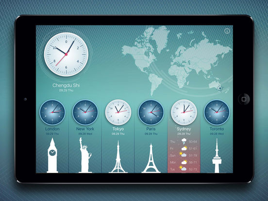 World Clock 2 screenshot 7