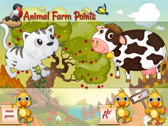 Animal Farm Points - Preschool Games screenshot 6