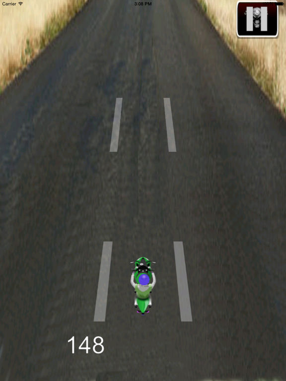 Highway Motorcycle Traffic HD - Amazing Extreme Speed screenshot 10