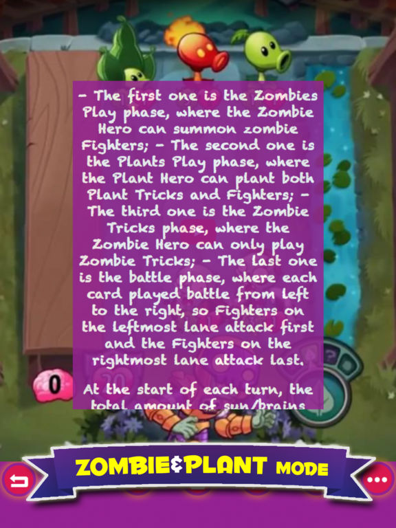 Free Guide For Plants vs. Zombies Heroes screenshot 6