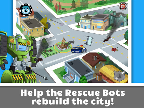 Transformers Rescue Bots: Save Griffin Rock screenshot 9