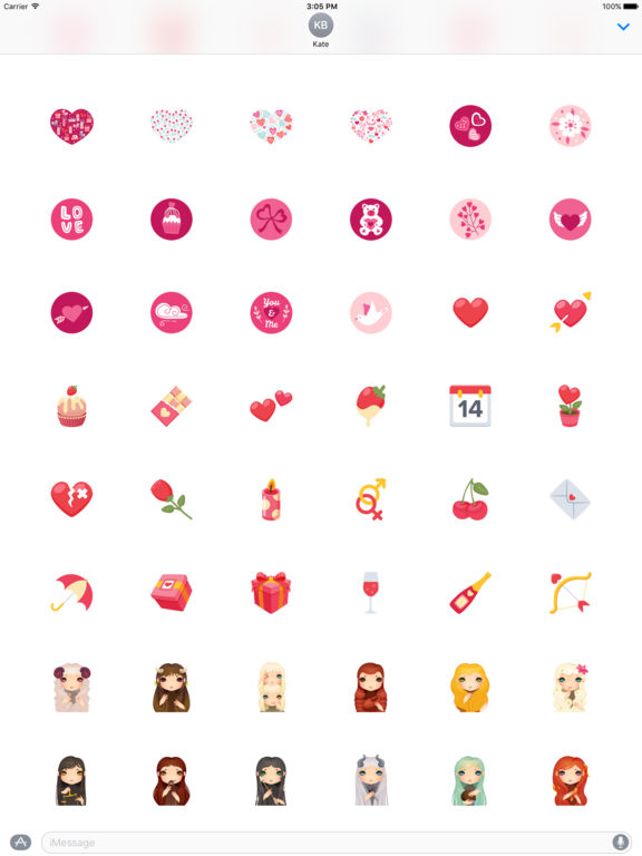 Love - Stickers screenshot 10