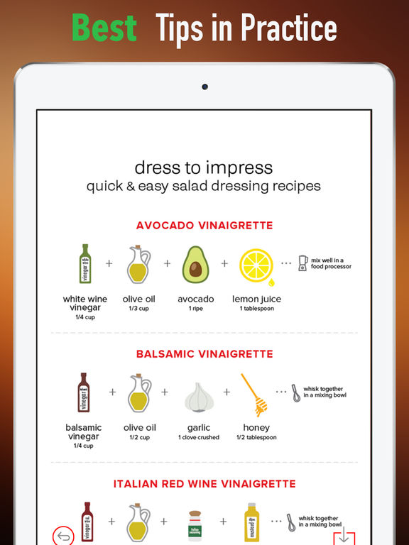 Salad Dressing 101-Recipes Tips and Tutorial screenshot 9