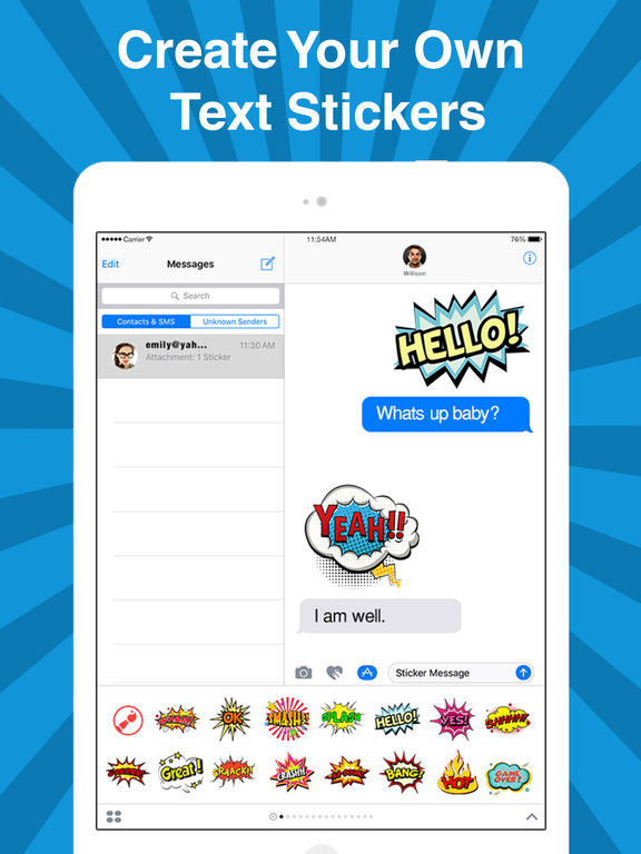 StickyFi - Sticker Maker For iMessage Stickers screenshot 7