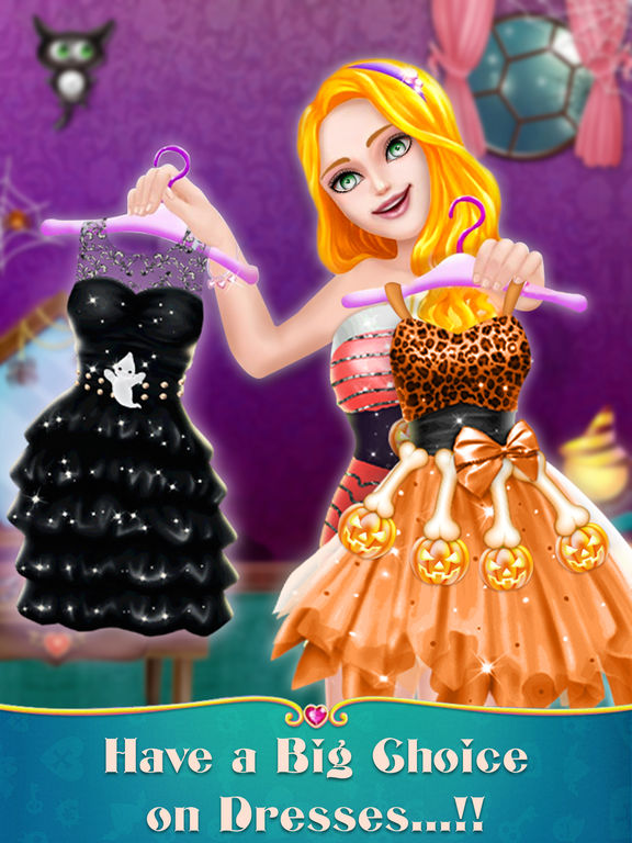 Halloween Scary Party Makeover screenshot 7