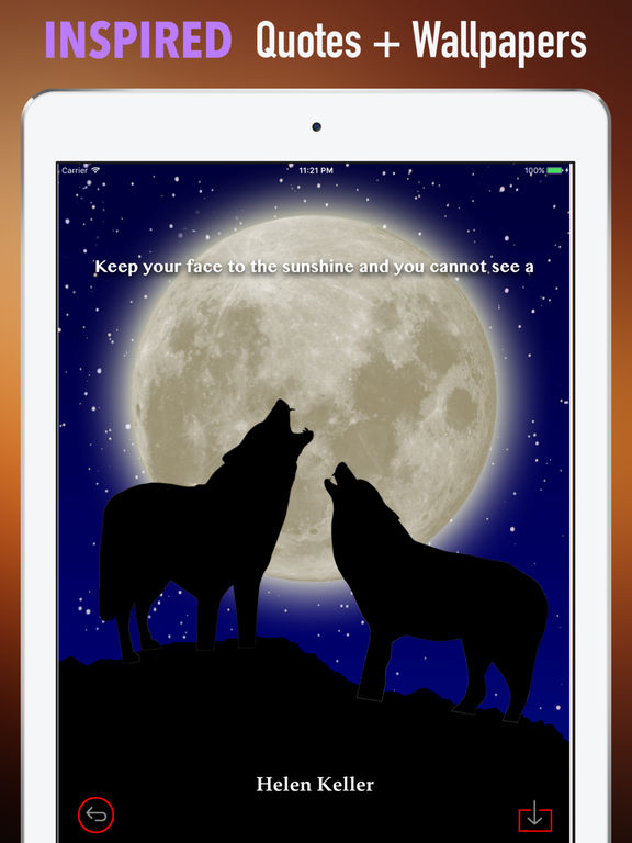 Wolf Howling Wallpapers HD: Quotes,Art Pictures screenshot 10