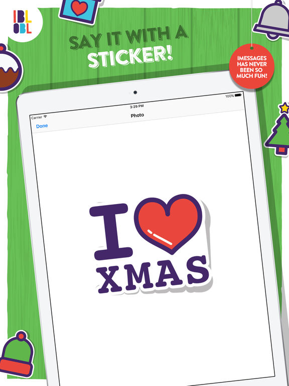 Ibbleobble Christmas Stickers screenshot 6