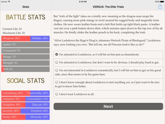 VERSUS: The Elite Trials screenshot 7