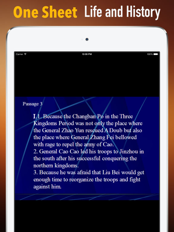 Biography and Quotes for Cao Cao:Life and Video screenshot 7