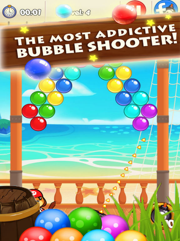 Hunter Bubble Bommer - Treasure Ocean screenshot 4
