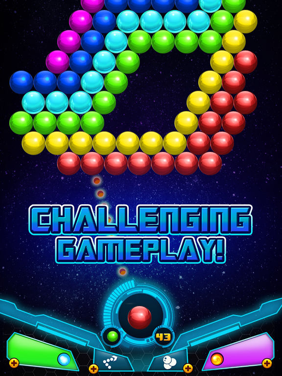 Bubble Shooter Sky Escape screenshot 7
