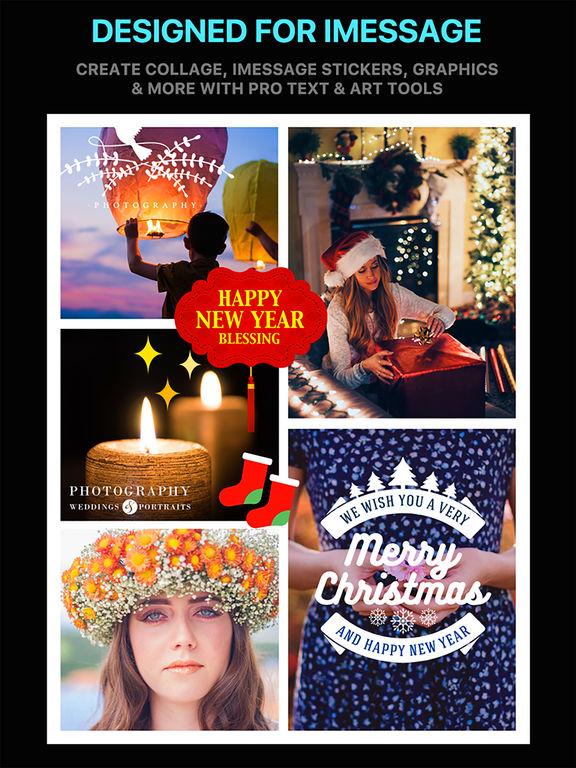 Emoji Collage Pro - Holiday Message Pic Stickers screenshot 9