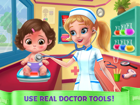 Crazy Nursery - Newborn Baby Doctor Care screenshot 7