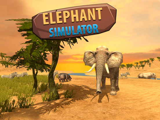 Big Elephant Simulator: Wild African Animal 3D Full screenshot 7