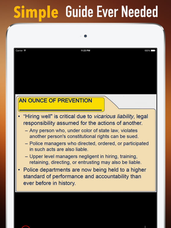 Police Officer Exam:Study Guide and Courses screenshot 7