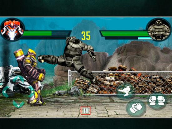 Modern Robot fight 3D : New Game 2016 screenshot 6