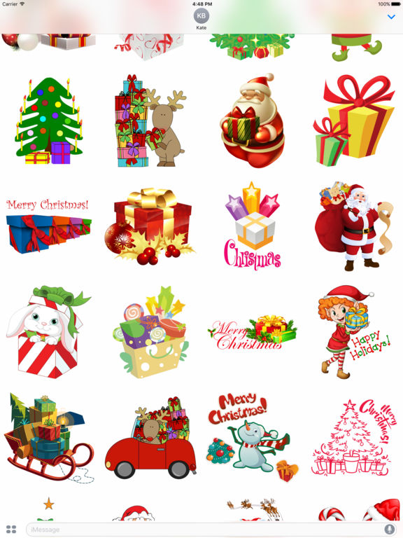 Christmas Gifts - Stickers for iMessage screenshot 4