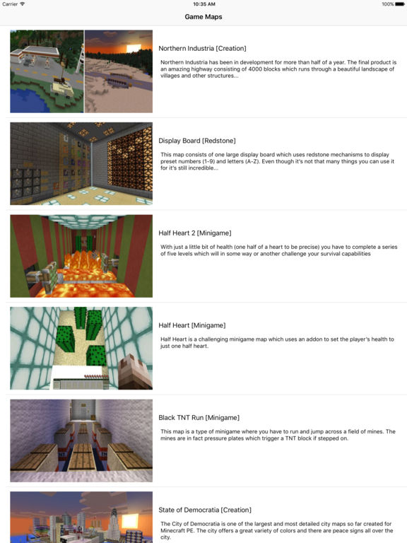 Game Maps for Minecraft PE screenshot 2