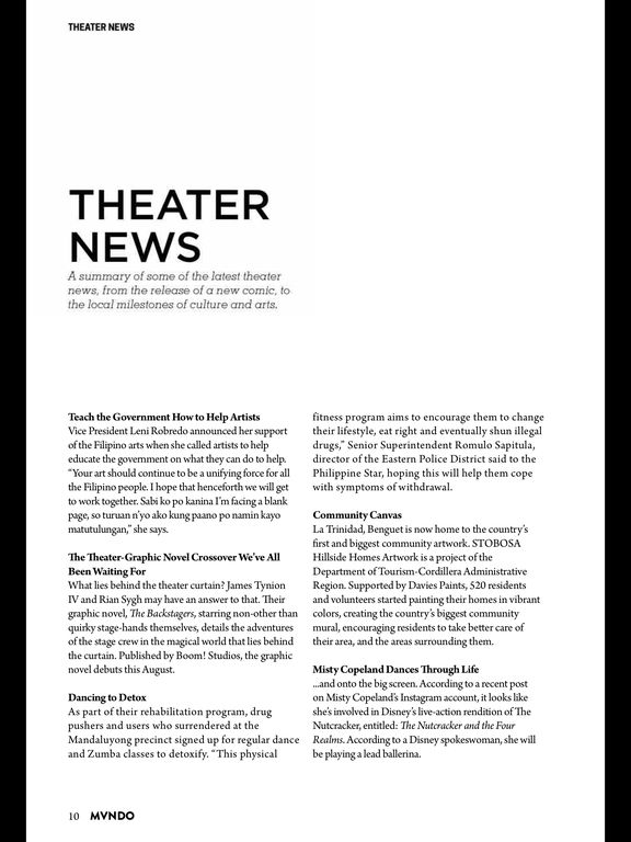 MVNDO Magazine screenshot 7