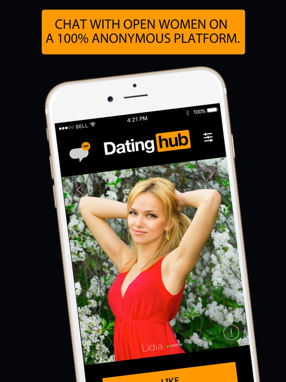 Dating hub -flirt and meet free singles online app screenshot 8