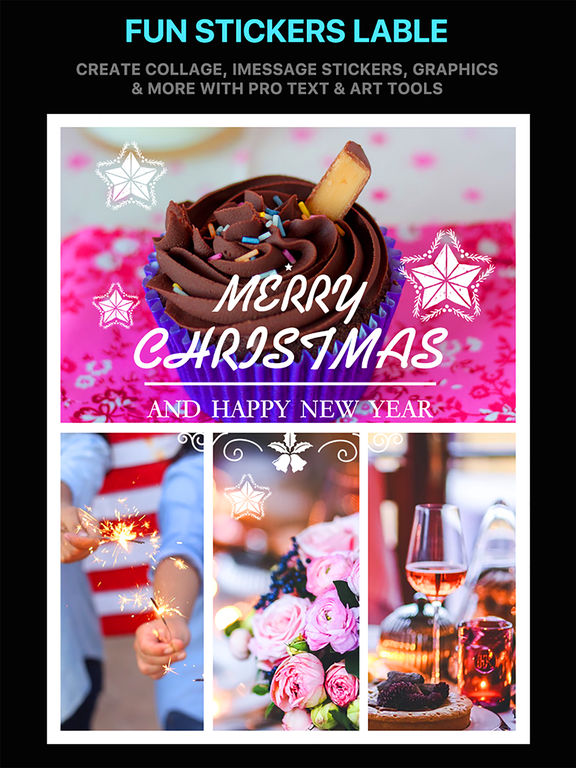 Emoji Collage Pro - Holiday Message Pic Stickers screenshot 7