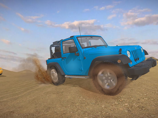 4X4 Offroad Jeep desert Safari - Driving 3D Sim screenshot #5
