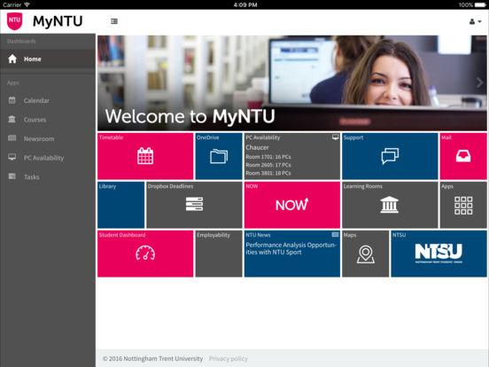MyNTU - Nottingham Trent Uni screenshot 6