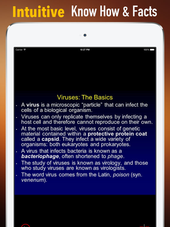Viruses Glossary and Cheatsheet:Study Guide screenshot 6