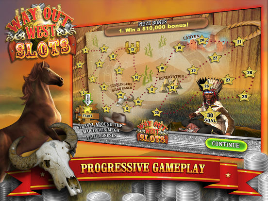 Way Out Wild West Slots screenshot 10