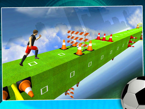 Soccer 2017 Run - New Soccer arcade runner game 3D screenshot 6