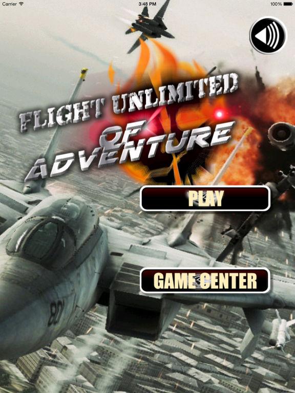 Flight Unlimited Of Adventure - Flight Simulator Aircraft Of War screenshot 6