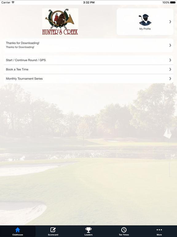 Hunter's Creek Golf & CC screenshot 7