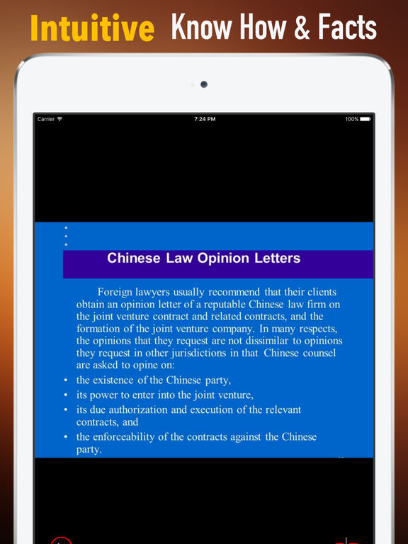 Basic China Law:Tips and Guide screenshot 6
