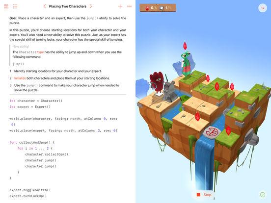Swift Playgrounds screenshot 3