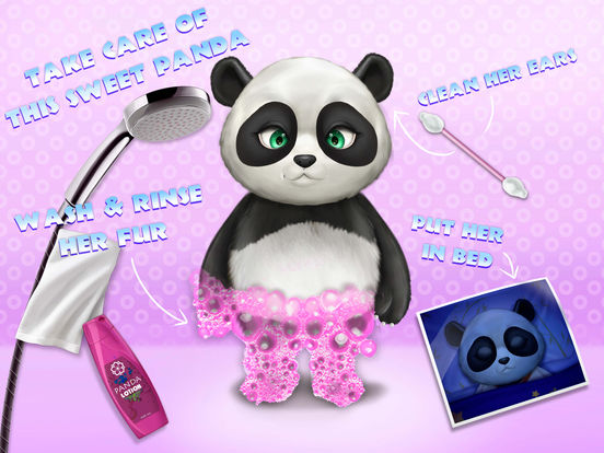 Cute Panda Village - Fashion, Care & Clean Up screenshot 10