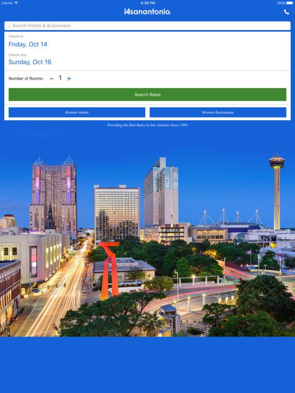 i4sanantonio - San Antonio Hotels & Yellow Pages screenshot 6