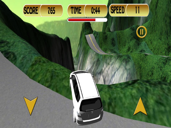 Off-Road Mountain Car : 3D Simulation Game Mania screenshot 6