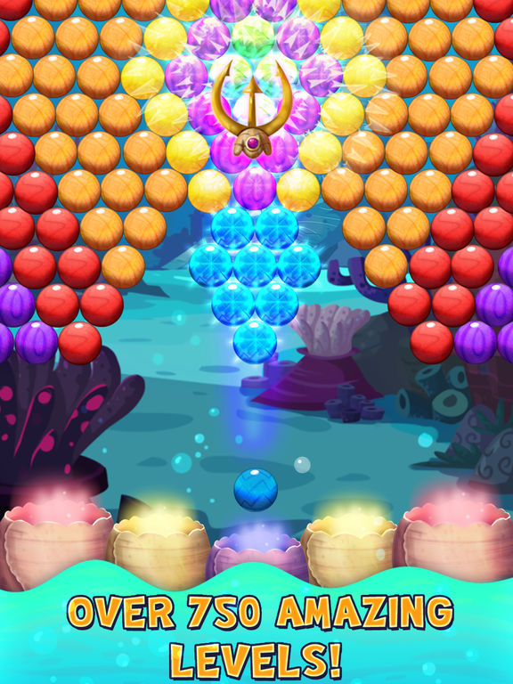 Bubble Shooter Underwater World screenshot 6