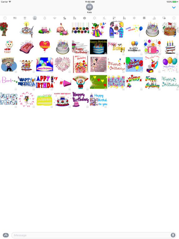 HolidayGifs - Animated Holiday Stickers screenshot 8