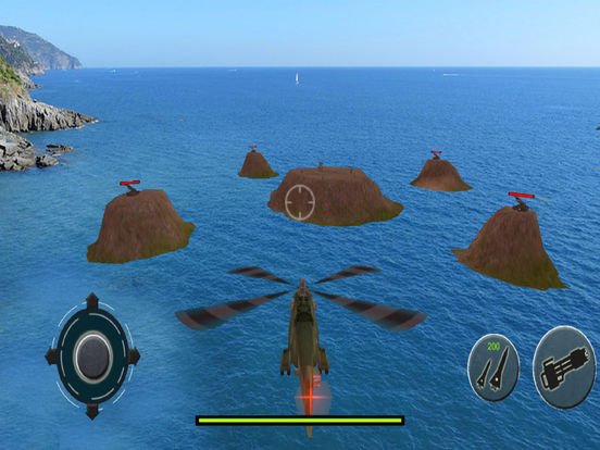 Helicopter Air Combat : New War Strategy Adventure screenshot 5