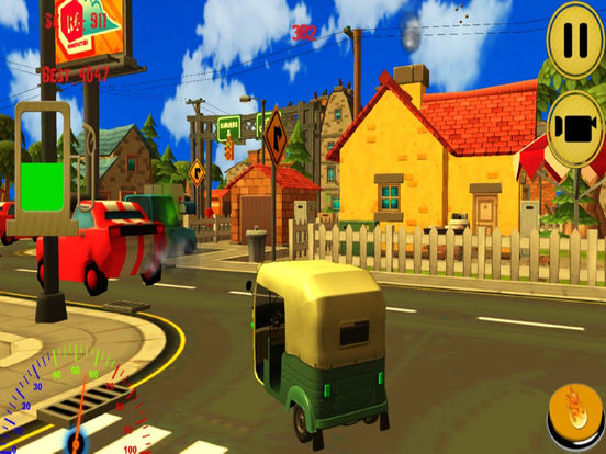 City Auto Rickshaw Drive screenshot 4