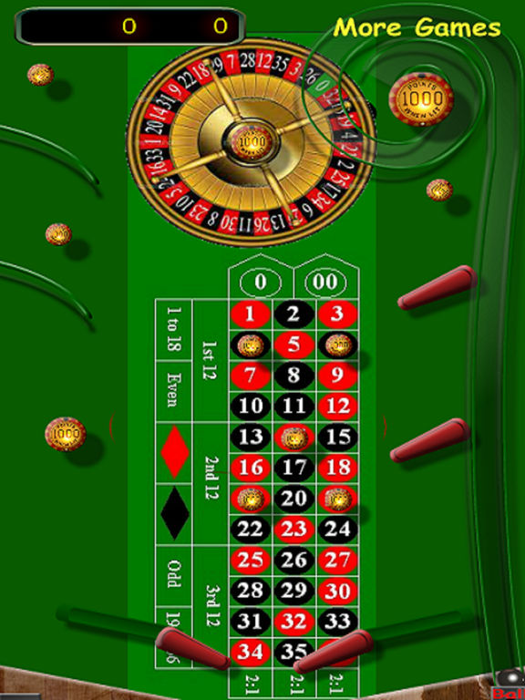3D Casino Roulette Pinball screenshot 2