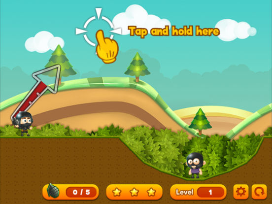 Grenade Toss ® screenshot 7
