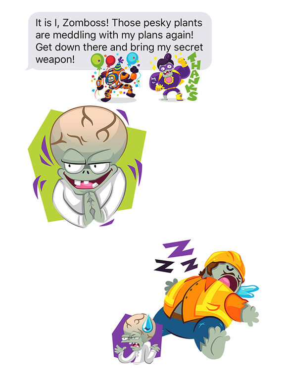 Plants vs Zombies™ Stickers screenshot 4