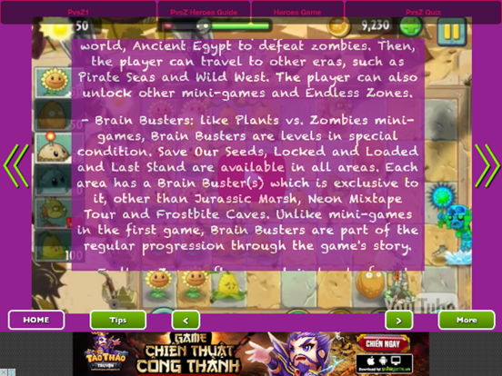 Full Guide - Plants vs. Zombies Heroes + 2 + 1 Pro screenshot 5