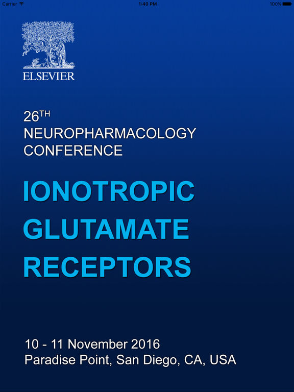 26th Neuropharmacology Conference screenshot 6