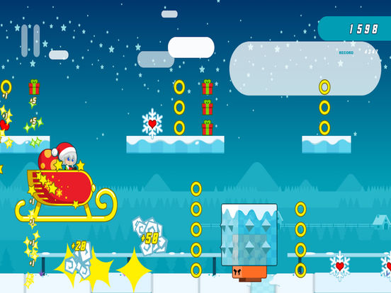 Santa Girl Runner screenshot 5
