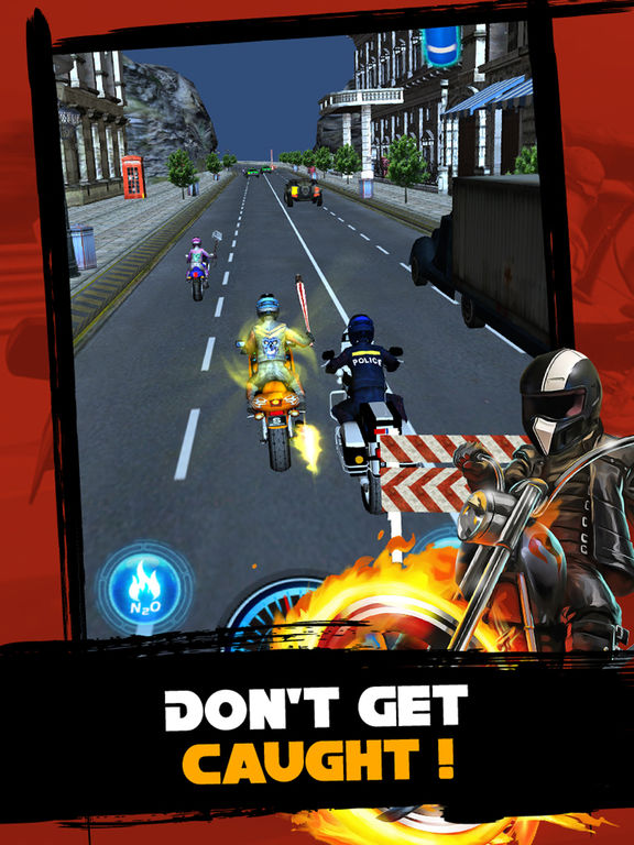 Motorcycle Street Racing : Speed Meltdown 3D screenshot 8