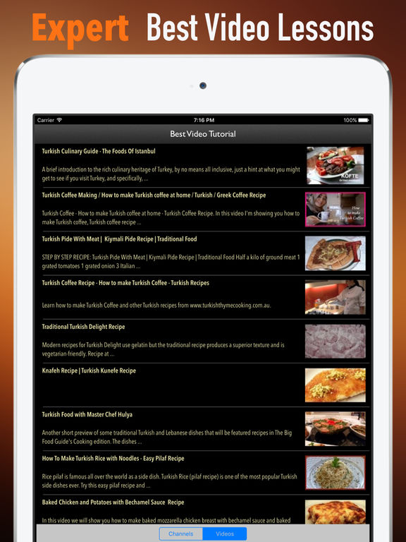 Turkish Recipes:Good Food Guide screenshot 8