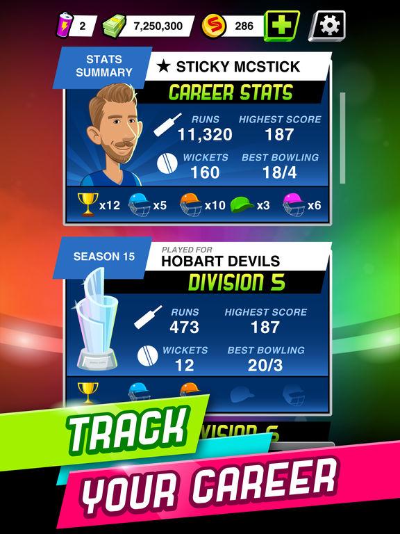 Stick Cricket Super League screenshot #5